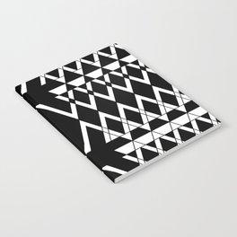 Aztec Negative  Notebook