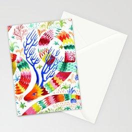 Dragon Deer Stationery Cards