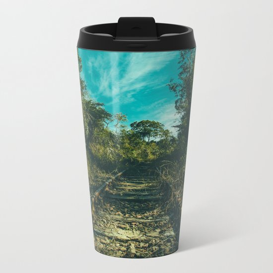 Abandoned Metal Travel Mug