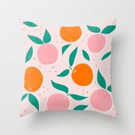 vitamin C Throw Pillow