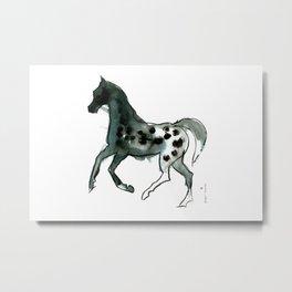 Horse (Leopard) Metal Print