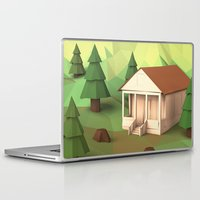 cabin Laptop & iPad Skins featuring Cabin by CharismArt