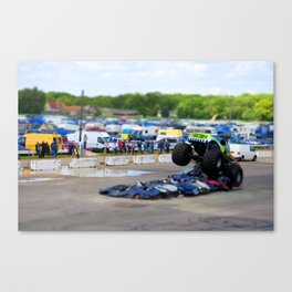 Monster Truck. Canvas Print