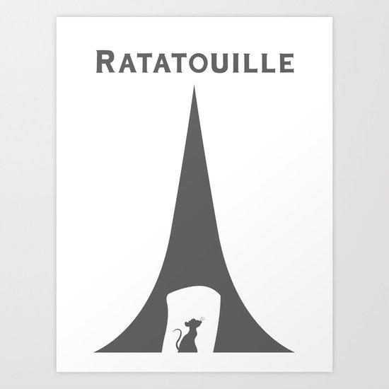 Ratatouille Art Print