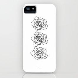 Rose Noire iPhone Case