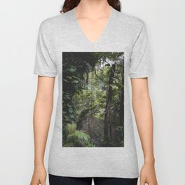 Hidden Jungle River Unisex V-Neck