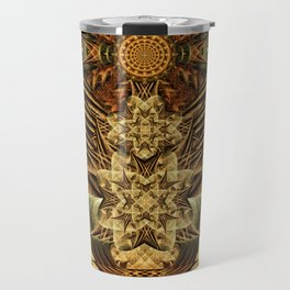 Gateway of the Ancients Temple Travel Mug