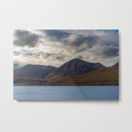 Loch Ainort, in Luib, Skye, The Highlands, Scotland Metal Print