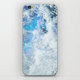 Blue Ocean Glow iPhone Skin