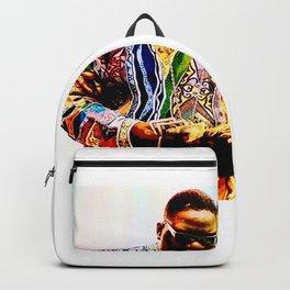 BiggieSmalls Poster Print Art B.I.G Hip Hop Backpack