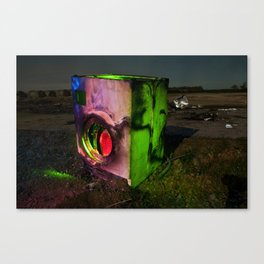 Wash the Night Canvas Print