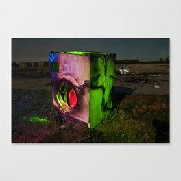 Wash the Night Canvas Print