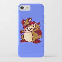 rocket raccoon iPhone & iPod Cases featuring Rabid Raccoon by Artistic Dyslexia