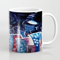 starry night Mugs featuring Todays' 'Starry Starry Night' by Cassandra Evelyn