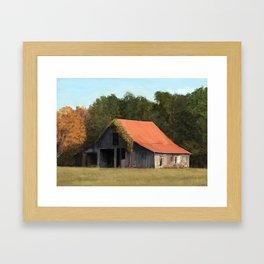 Old barn #1 Framed Art Print
