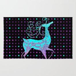 Deer REINDEER BLUE Rug