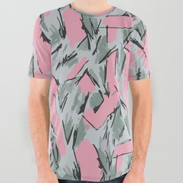 Hopper Pattern All Over Graphic Tee