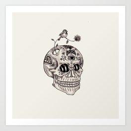 Boney Art Print