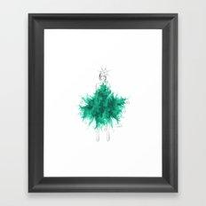 Christmas Tree Fashion Framed Art Print