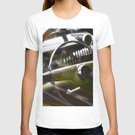steering wheel in classic american ca T-shirt