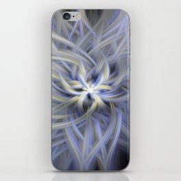 Forget-me-nots Twirled iPhone Skin