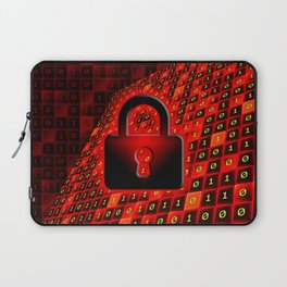 Secure data concept. Laptop Sleeve