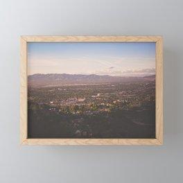 Mulholland Drive Framed Mini Art Print