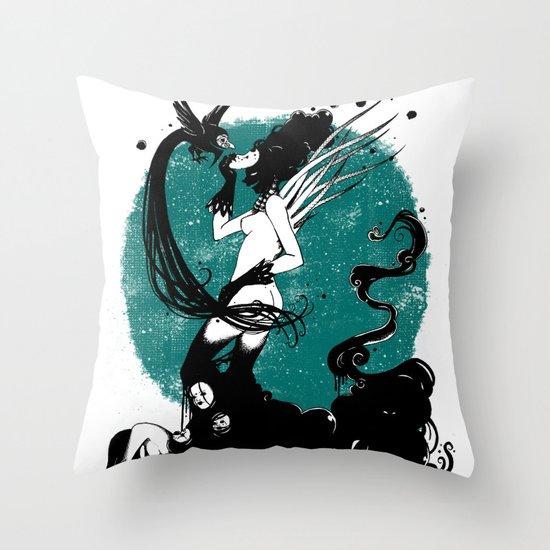Sin Titulo Throw Pillow