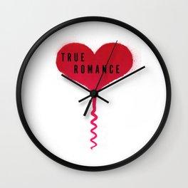 True Romance Corkscrew Heart Wall Clock