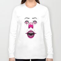 pennywise Long Sleeve T-shirts featuring Pennywise by LuisD