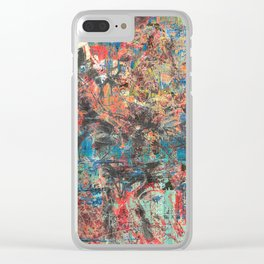 Trojan Horse II Clear iPhone Case