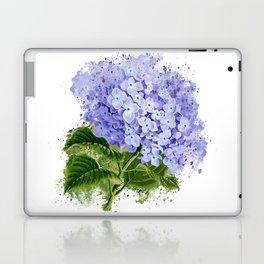 Watercolor hydrangea Laptop & iPad Skin