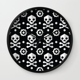 Jolly Roger Wall Clock