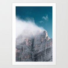 Dolomites Poster Portrait, Italy, Printable Photography, Nature, Landscape, Print, Wall Art Art Print