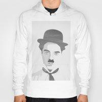 chaplin Hoodies featuring Chaplin by Beitebe