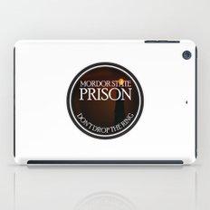 Mordor State Prison  iPad Case
