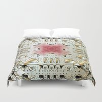 egyptian Duvet Covers featuring Egyptian Style by Lynn Bolt