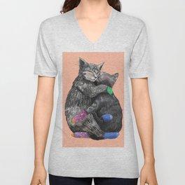love cats Unisex V-Neck