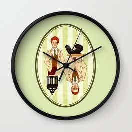 The Bird or the Cage? Wall Clock