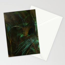 Peacock in Bloom Stationery Cards