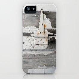 Hinge on Vintage Door iPhone Case