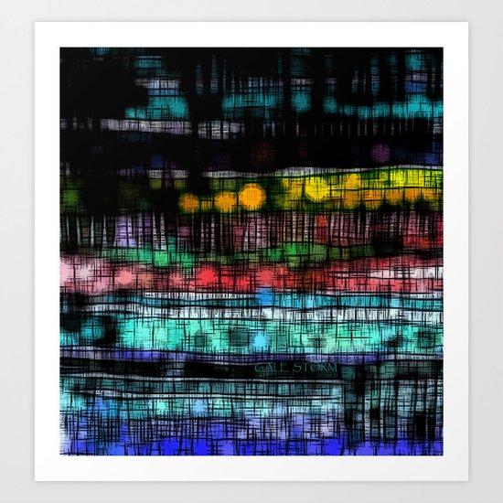 :: Sleep Walk :: Art Print