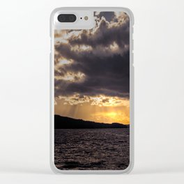Dramatic change in the weather Clear iPhone Case