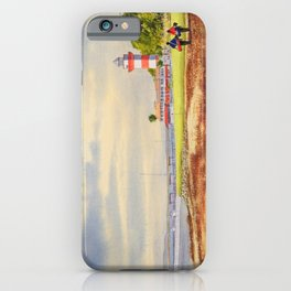 Harbor Town Golf Course 18th Hole South Carolina iPhone Case