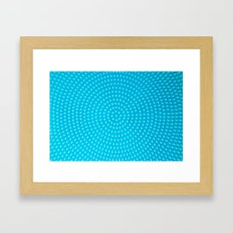 Tangled up in blue Framed Art Print