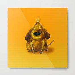 Gold King Metal Print