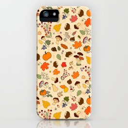 Autumn is in the air iPhone Case