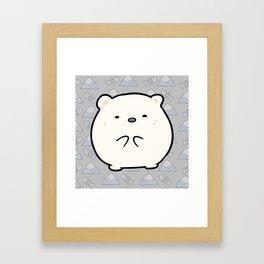 Little Polar Framed Art Print