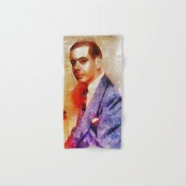 Cole Porter, Music Legend Hand & Bath Towel