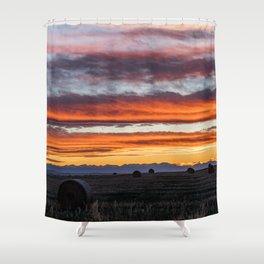 Gallatin Valley Shower Curtain